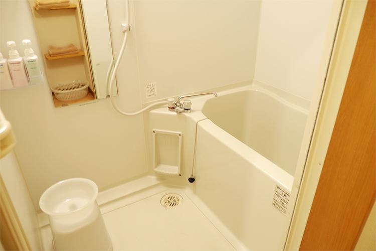 和室ルームのお風呂